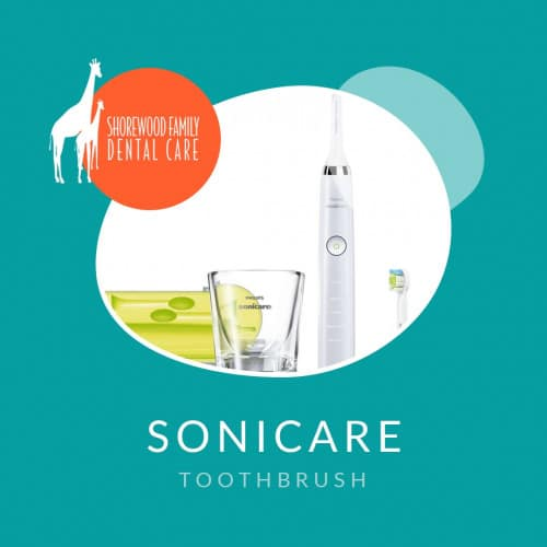 sonicare electric toothbrush kit